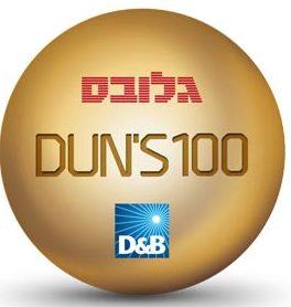 Globes_Duns100-Logo-solo